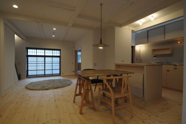 上京の町家 改修 竣工-2